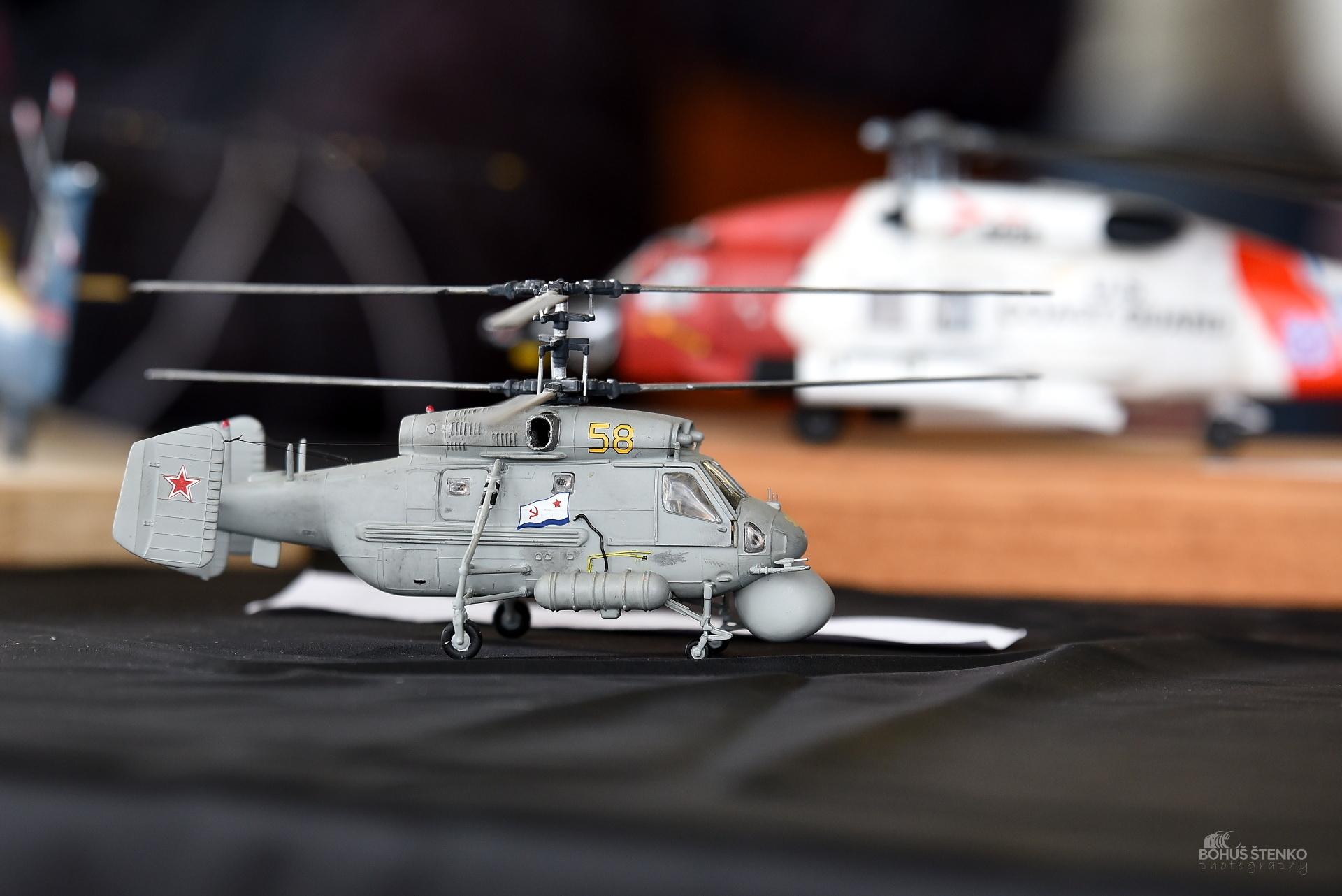 model vrtulníka